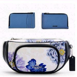 Coach 2 Pcs SET Designer Belt Bag Convertable +